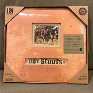 Boy Scout scrapbook
